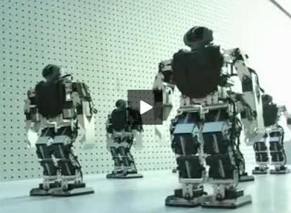 西安世博园创意馆机器人劲舞团